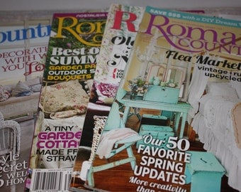 Romantic Country magazines - Free Shipping
