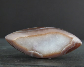 Beautiful free form druzy, natural stone S6932