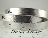 CUSTOM Secret Message Hand Stamped Cuff Bracelet Can Be Custom Quote