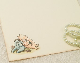 Thank You Notes Cards Classic Pooh Stationery Sets-Set of 10