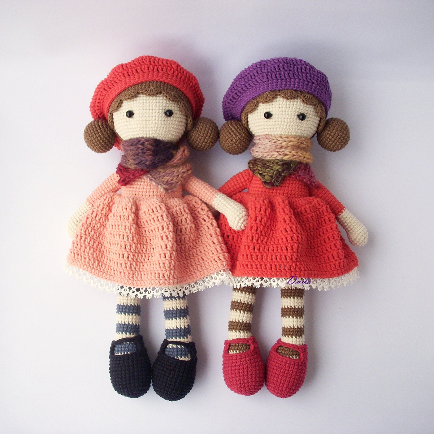 Crocheting Dolls : PDF Crochet doll Aria crochet doll Crochet Pattern Doll