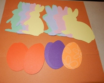 Die Cuts: Bunny Rabbits & Easter Eggs