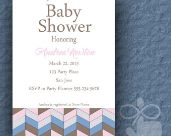 Baby Shower Invitation- Digital