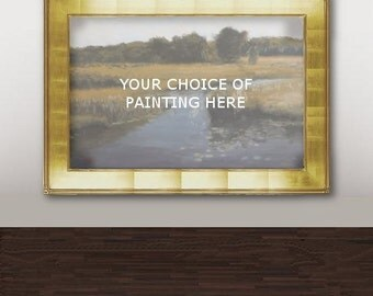 Custom large landscape oil painting