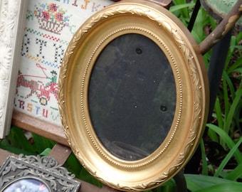 Frame, Gold Frame, Oval Frame, Burnes of Boston, Vintage Frame, Cottage, Beach, Picture Frame, Casa Karma Decor, Photo Frame, Hostess Gift