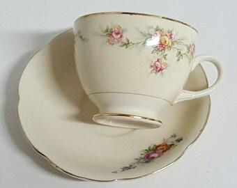 Precious Shabby Chic Tea Cup and Saucer