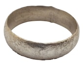 Ancient Viking Wedding Ring Silver over bronze  C.900A.D. Size 7 1/2  (17.2mm) [PWR1057]