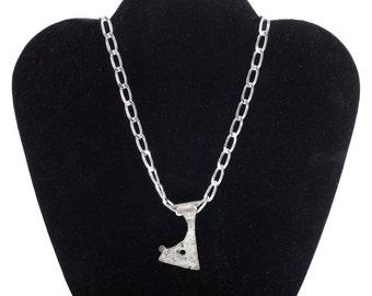 Ancient Viking Votive Axe Necklace C.900-1100 A.D
