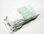 Arrow Diaper Strap - Mint Green White Falling Arrows