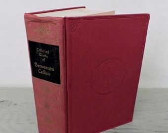 Antique Biography - The Autobiography of Benvenuto Cellini. One Volume Edition - 1927 - Renaissance - Art History