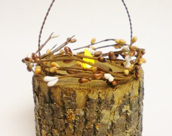 Tree Branch Lantern, Primitive Fall Decor, Accent Lighting