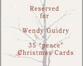 Reserve for Wendy Guidry