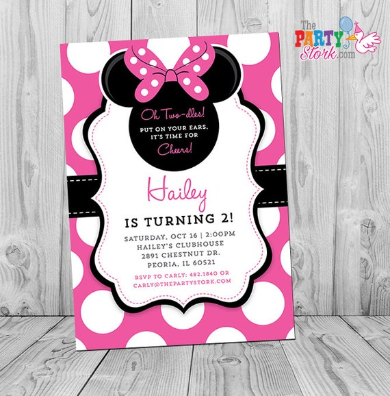 Minnie invitation minnie mouse party minnie mouse invite minnie il570xn filmwisefo