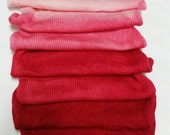 Saturated Sock Blank RED Gradient