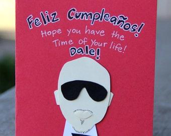Birthday Card- Rapper Pitbull Feliz Cumpleanos