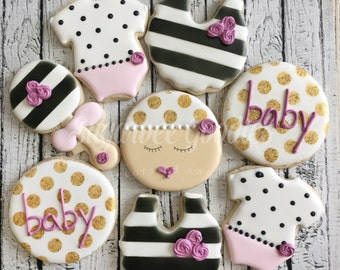baby shower kate spade baby cookies 12 kate spade baby shower baby