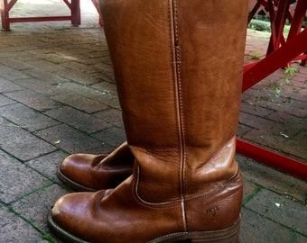 Vintage Frye Campus boots. Made in USA.