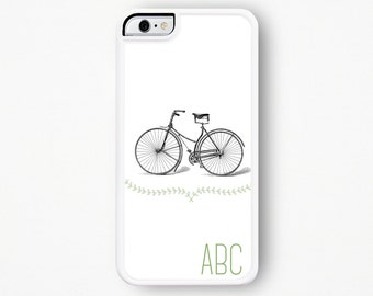 Monogram iPhone Case Vintage Bicycle iPhone Case Monogram iPhone 4 Case Monogram iPhone 5 Case Monogram iPhone 4s Case iPhone 5s 5C