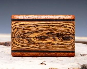 Exotic Wood Belt Buckle - Handmade