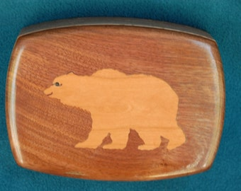 Grizzly Bear Treasure or Jewelry Box