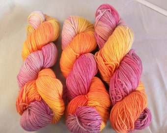 Hatter on MCN fingering weight yarn