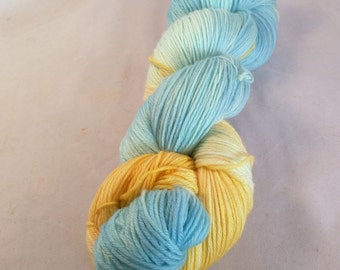 Looking Glass on MCN fingering weight yarn