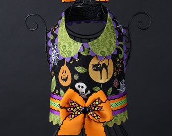 HALLOWEEN:  Spooky Cute Dog Harness