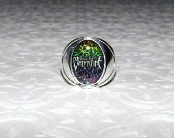 Bullet For My Valentine Marble Ring