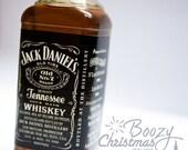 Black Label Whiskey Ornament— Whiskey Themed Christmas Tree Ornament