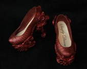 Baroque Steampunk with snakeskin High Heeled Shoes for bjd's ~ Mistletoe~