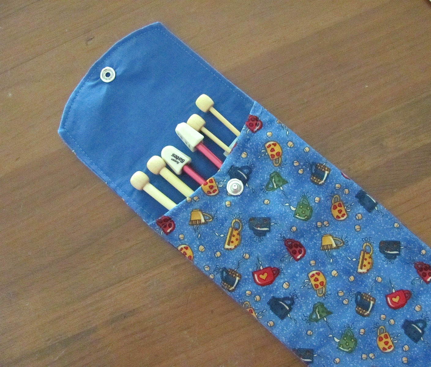 Knitting Accessories Australia : Knitting needle case holder accessories