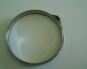 antique vintage Adjusto embroidery hoop cork lined 5 inch