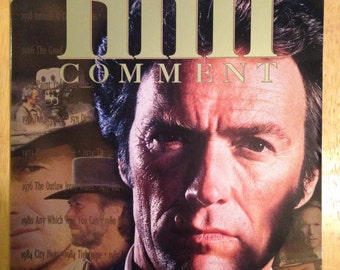 Film Comment magazine with Clint Eastwood on the cover.