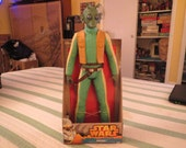 Star Wars Greedo 18 inch action figure still sealed in box made in 2014 by jakks pacific