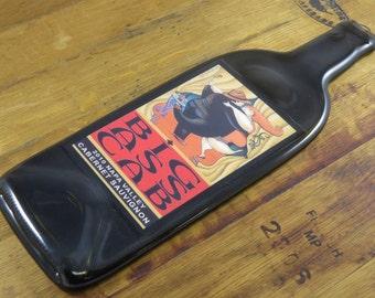 Wine Bottle Cheese Board - Big Ass Cab Cabernet