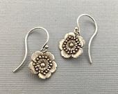 Little Flower earrings | Japanese flower | sakura earrings | cherry blossom earrings