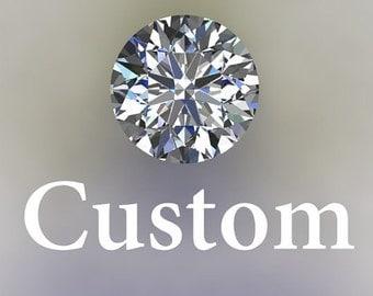 Custom Half Payment for C.Wall ---  Earrings