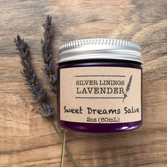 Natural Sweet Dreams Salve for Restful Sleep / Natural Sleep Aide / Aromatherapy for Sleep / Essential Oils for Sleep / Nighttime Sleep