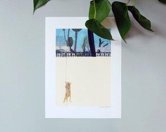 Illustration, Affiche, Impression sur papier, La Grande Evasion