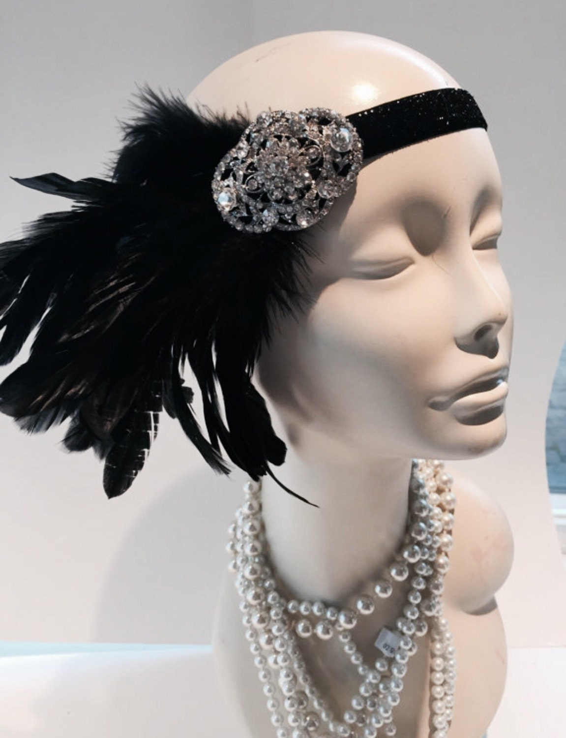great gatsby style hair accessories gatsby headband gatsby style great gatsby hair accessory 7346