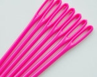 Set of 2 darning needles. Free shipping add-on. Plastic tapestry needle.