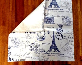 vintage napkin,s cloth napkins set of four, wedding, restaurants,  premier prints
