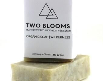 Organic Cedarwood Mint soaps - Natural Soap - Soap for Men - Soap Victoria BC Vancouver Island BC