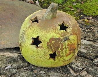 Halloween Pumpkin with Stars