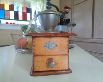 Vintage, Antique Coffee Grinder, Coffee Mill