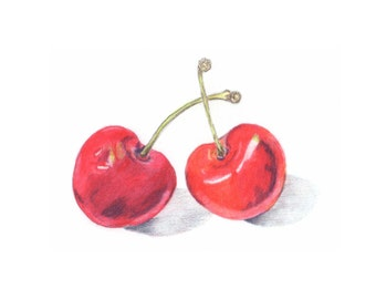 Kitchen Art - Cherries