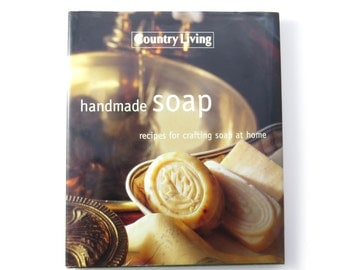 Handmade Soap book, soapmaking book, soapmaking recipes, craft book, soapcrafting book, used craft book