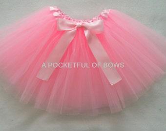 Light Pink Tutu Skirt Pink Tutu Light Pink Dress Up Tutu