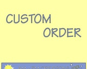 Custom Order for Rebecca Thurmond ONLY: Terrycloth Bath Mitts