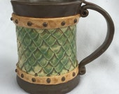Green Dragon Scale Mug